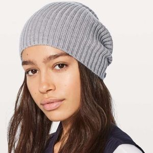 Wool be cozy toque heathered medium grey lululemon